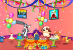 Bugs bunny at the party j�t�k